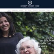 Harley Street Care website
