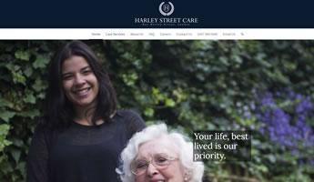 Harley Street Care website