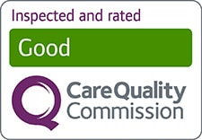 Care Quality Commission rating of good