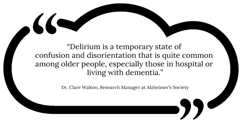 The definition of delirium
