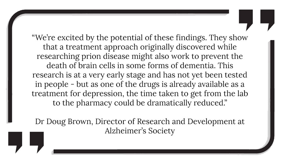 New dementia wonder drug quote