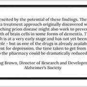 A new dementia wonder drug