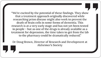 A new dementia wonder drug