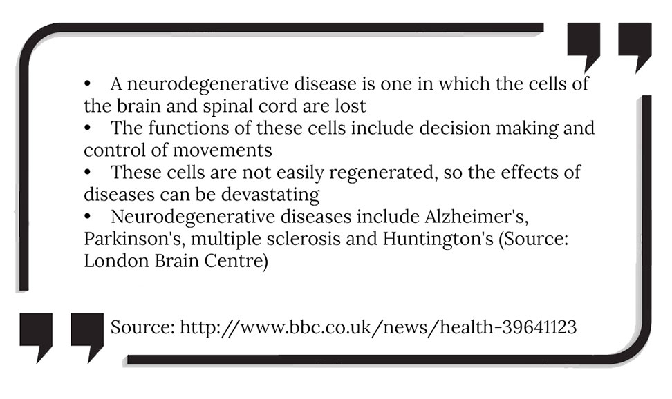 What is neurodegeneration