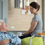 Private companion for elderly